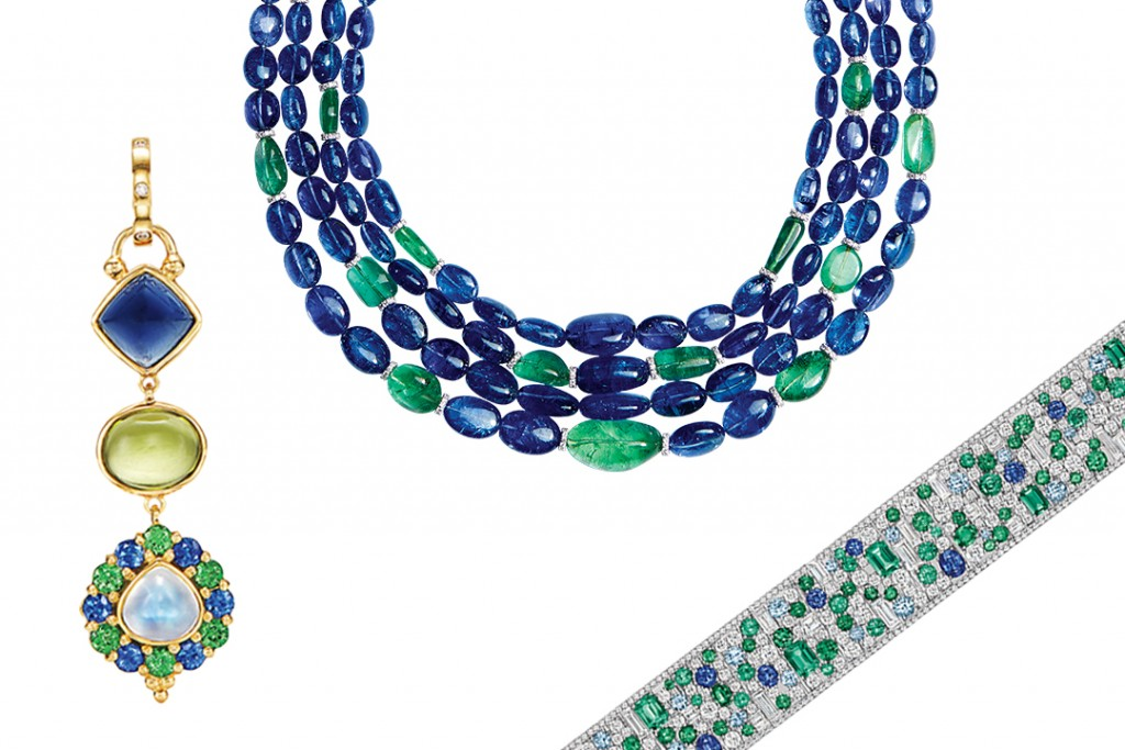 Glamorous Jewels With Wondrous Ocean Hues