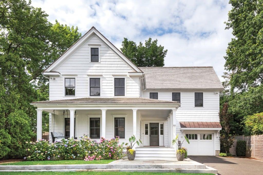 A Modern Farmhouse Receives A Glowing Renovation