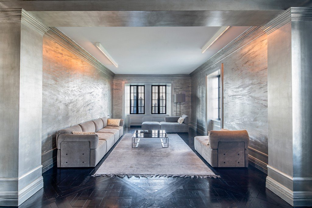 Yves Saint Laurents Former New York City Home At The Pierre Hotel Asks 8m Living Room