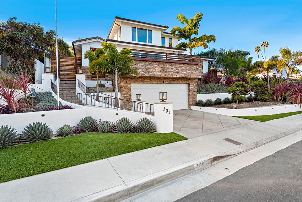 Ryan Sheckler San Clemente Home Entrance