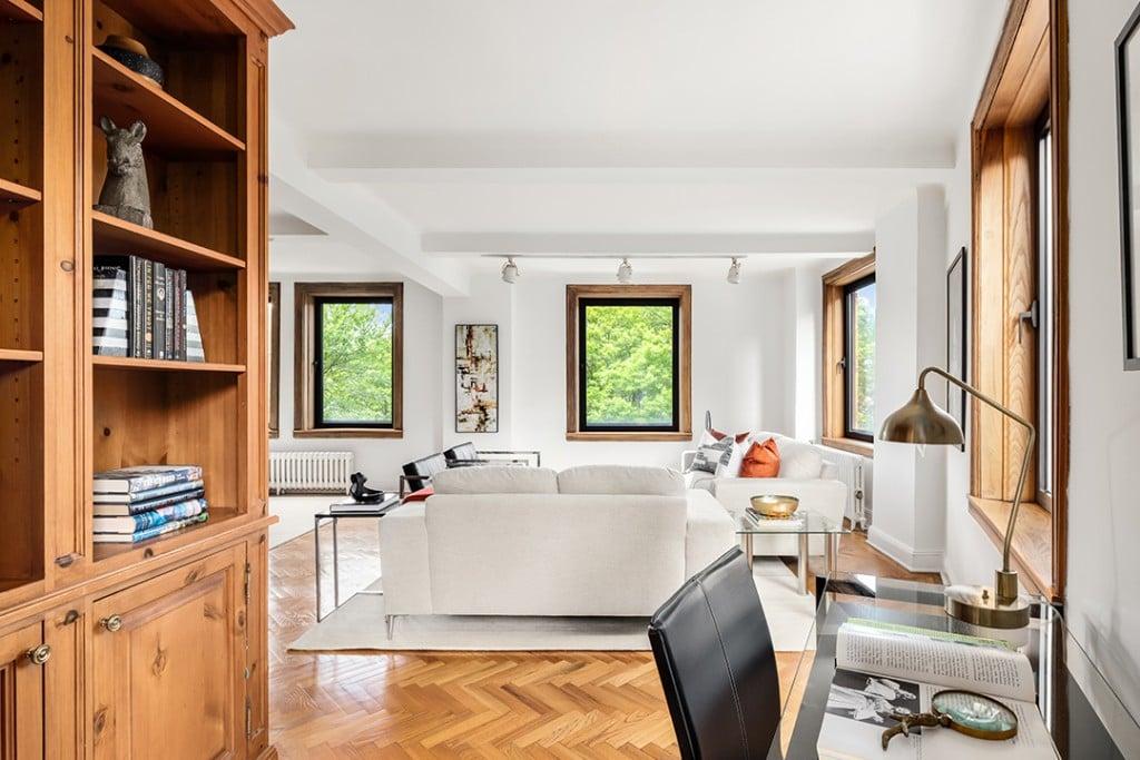 Ben Stillers Cherished Childhood Upper West Side Home Seeks 5m Herringbone