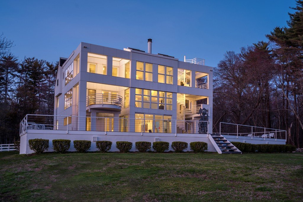 Architecturally Surprising Waterfront Home In Old Lyme Asks 3m Back