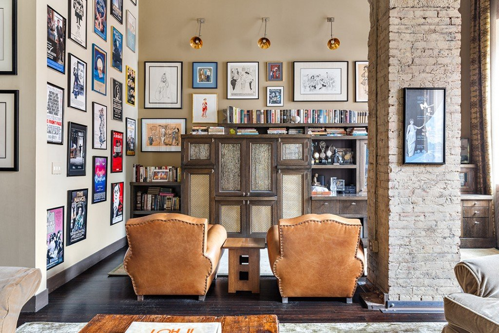 Actor Nathan Lane Puts Longtime Tribeca Triplex On The Market Seating