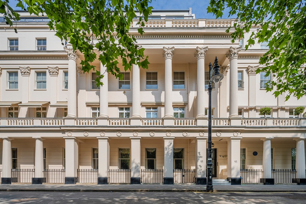 London Belgravia Apartment Once Home To Two Prime Ministers And An Heiress Wants 23m Exterior