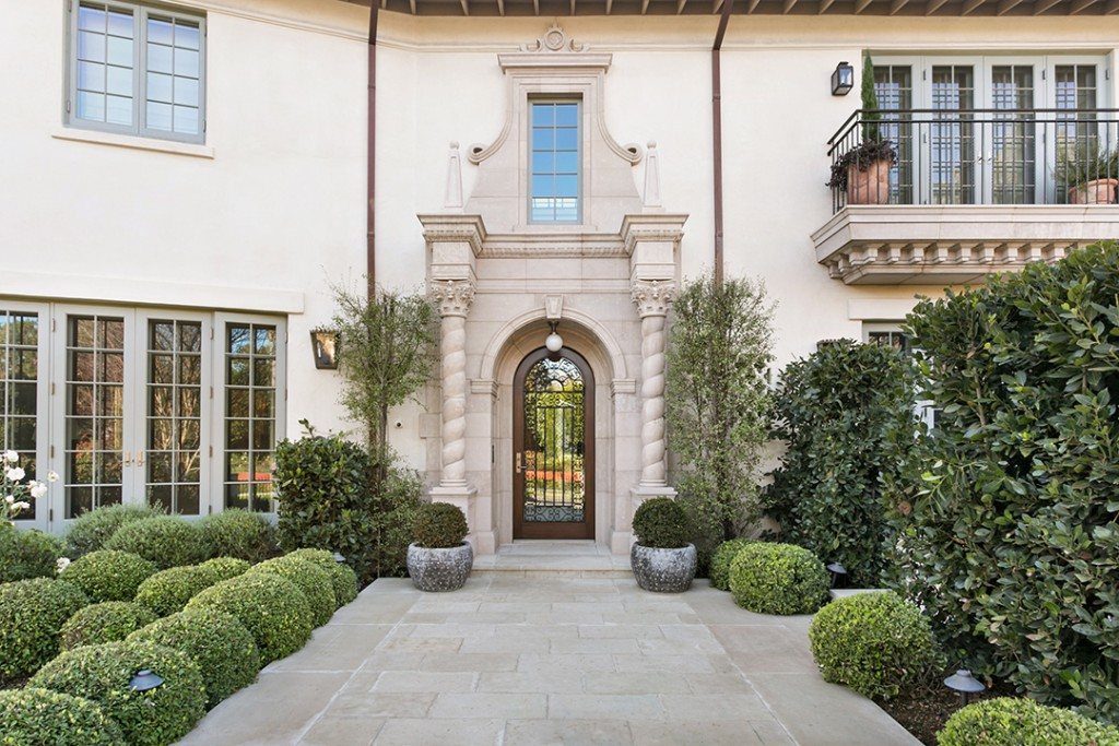 Showrunner Shonda Rhimes Lists Dramatically Renovated La Mansion Front Door