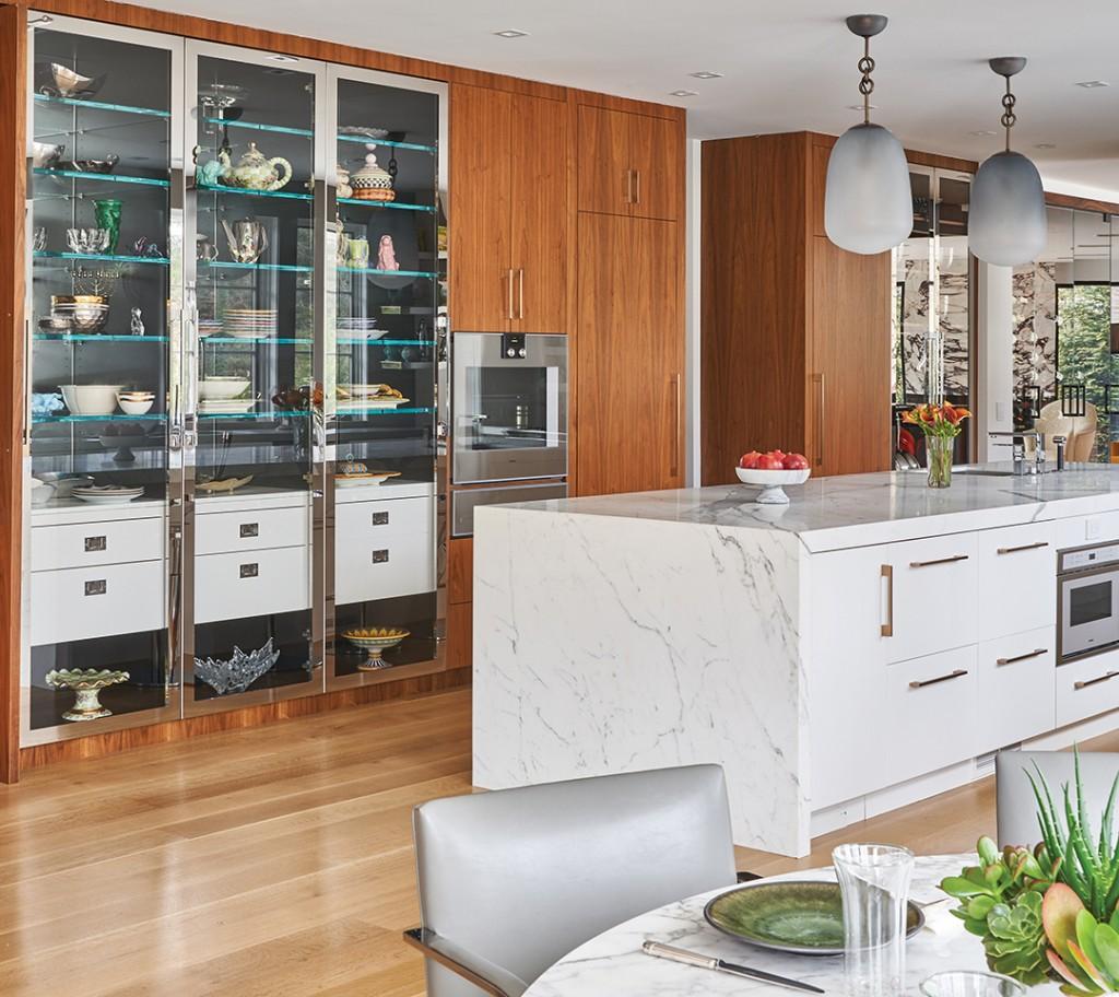 Step Inside A Dramatic Kitchen On Long Island Ciuffo Gaggenau Kitchen3 2 1