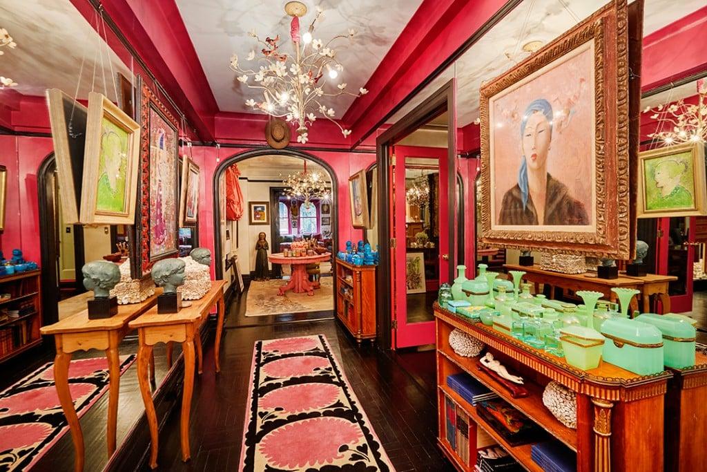 Gloria Vanderbilt Beekman Place Apartment Foyer