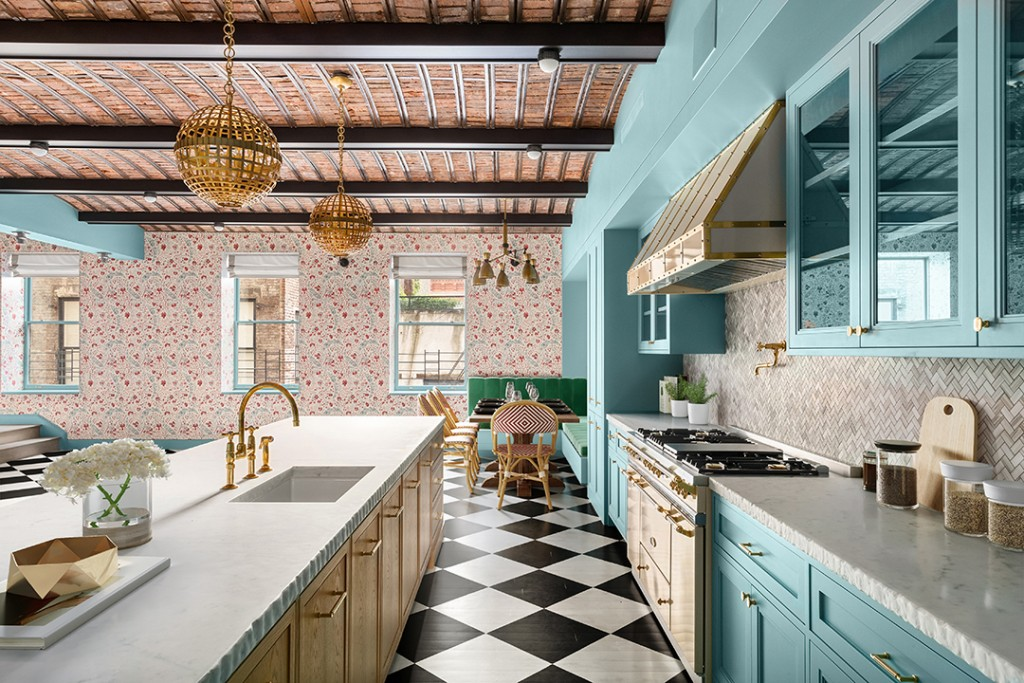 Whimsical Ken Fulk Designed Soho Duplex Wants 18m Kitchen