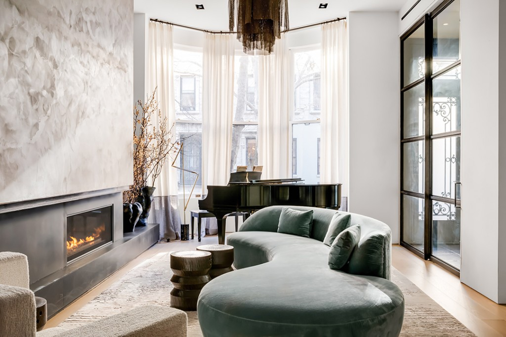 Tour The Most Expensive Townhouse For Sale On The Upper West Side Couch0b