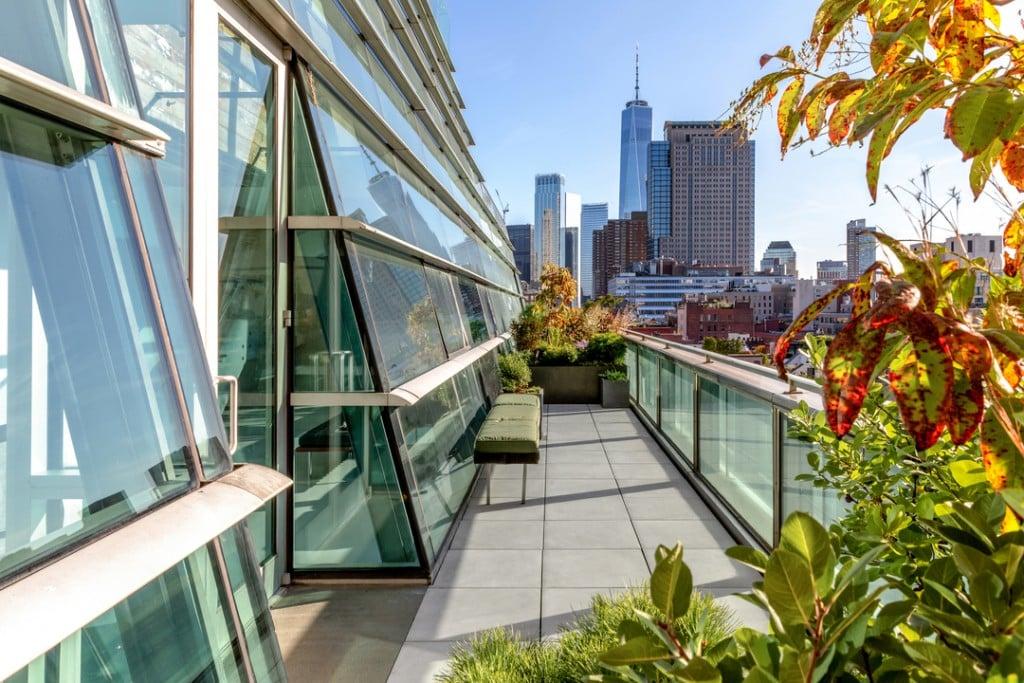 Hudson Square Manhattan Good Penthouse Terrace