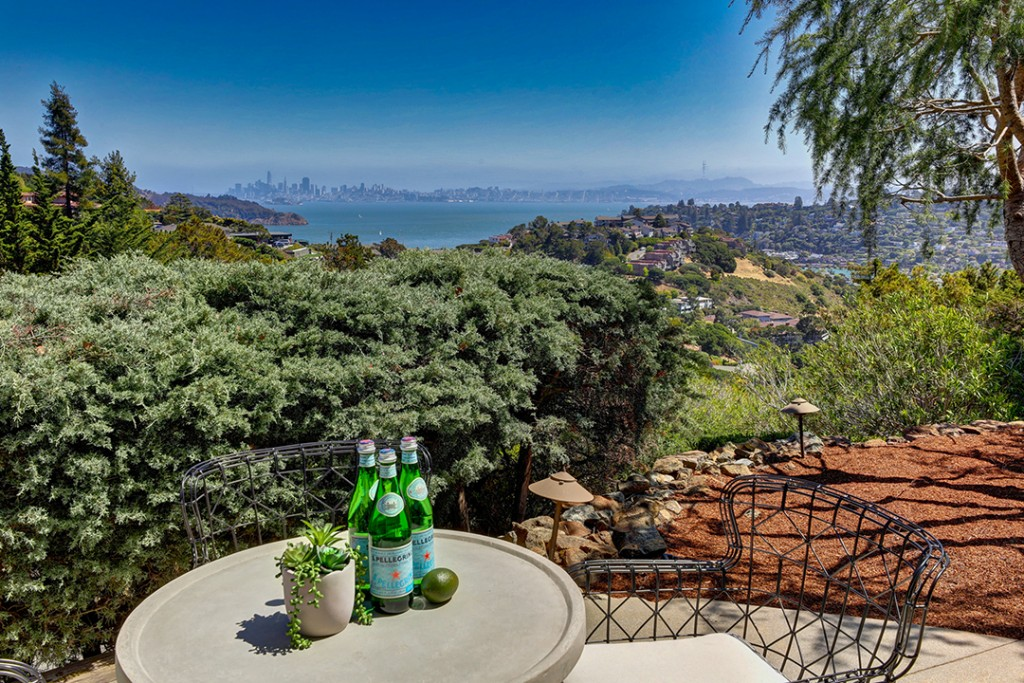 Musician Carlos Santana Lists Cool Contemporary In The Hills Of Tiburon Ca Views