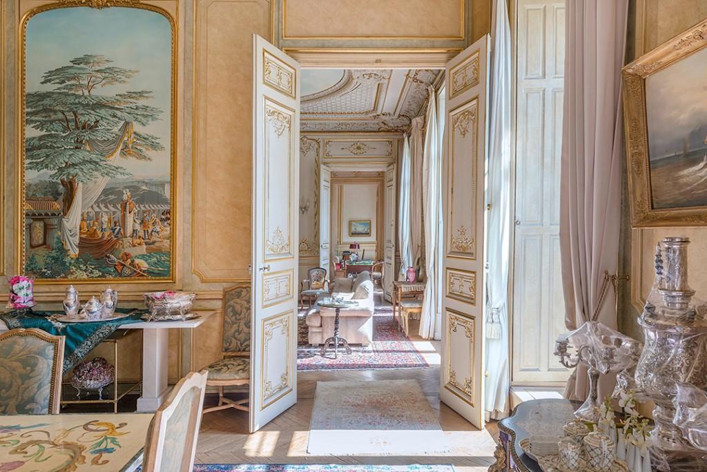 Paris Apartment Hallway