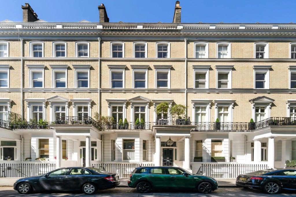 Cranley Gardens Kensington London Mansion Facade