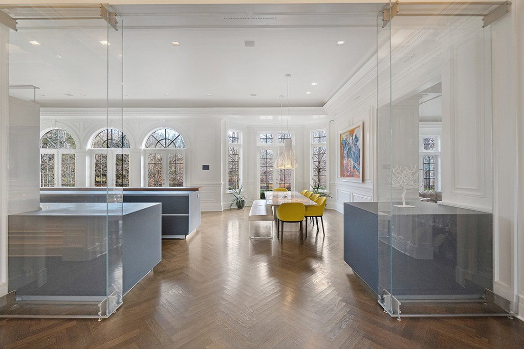 New Canaan Has A 19000 Square Foot Chateau For Sale Kitchen C