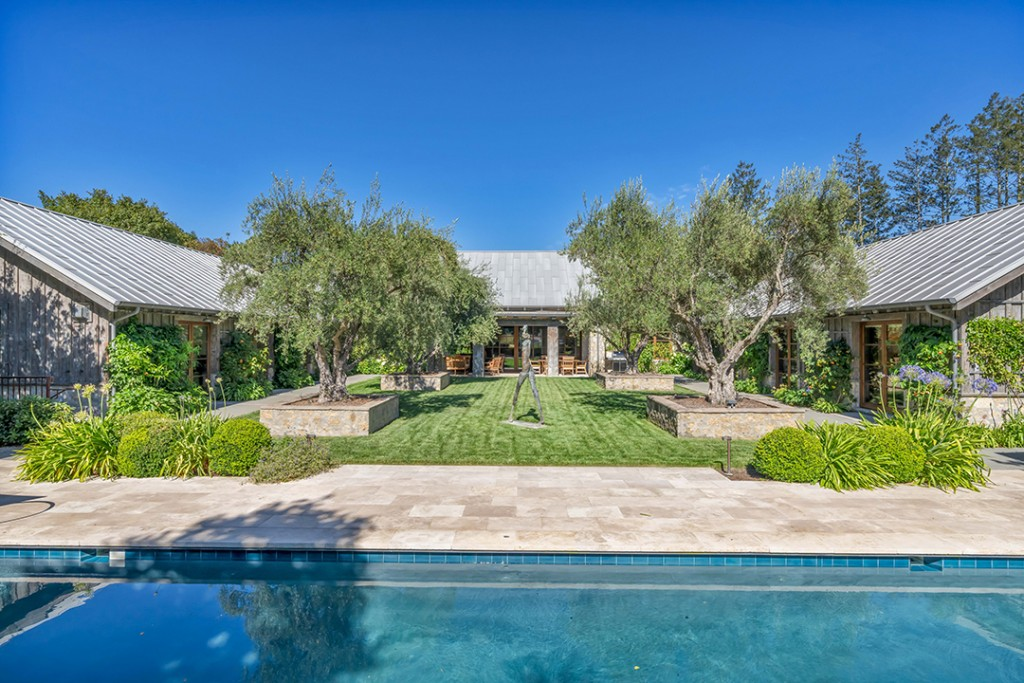 Inside Scoop A Rustic And Modern Sonoma County Compound Is For Sale Off Market B
