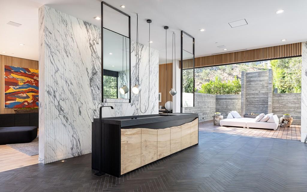 Encino Masterpiece Born Of Celebrity Designer Jae Omars Vision Unveiled For 26m Primary Bath