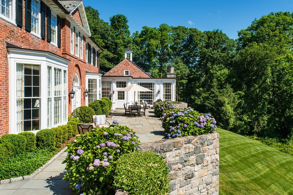 A Circa 1934 Greenwich Mansion Built By Mott Schmidt Lists For The First Time In 20 Years Terrace