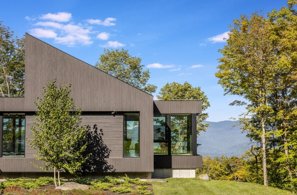 A Tale Of Two Vermont Listings Modern Exterior