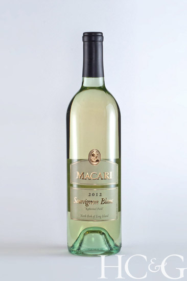 Macari's Sauvignon Blanc is ideal with chèvres