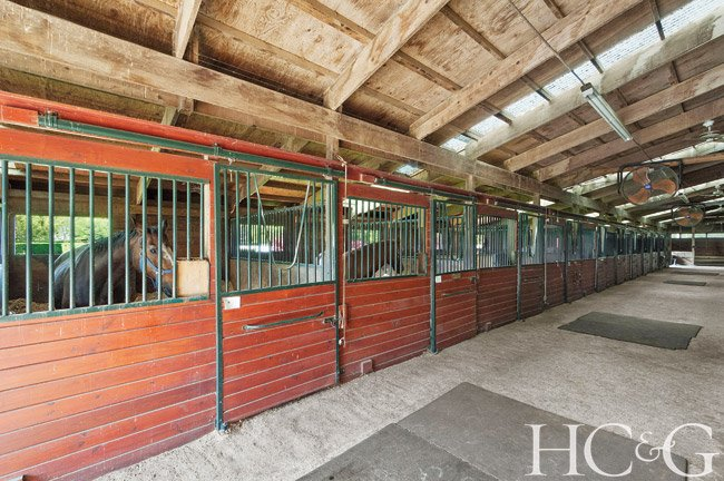 A 15-acre East Hampton horse farm, where legendary show jumper Snowman once trained, is currently on the market for $7.5 million.