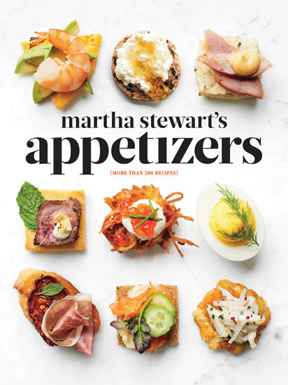 Martha Stewart's Appetizers Cook Book Cover