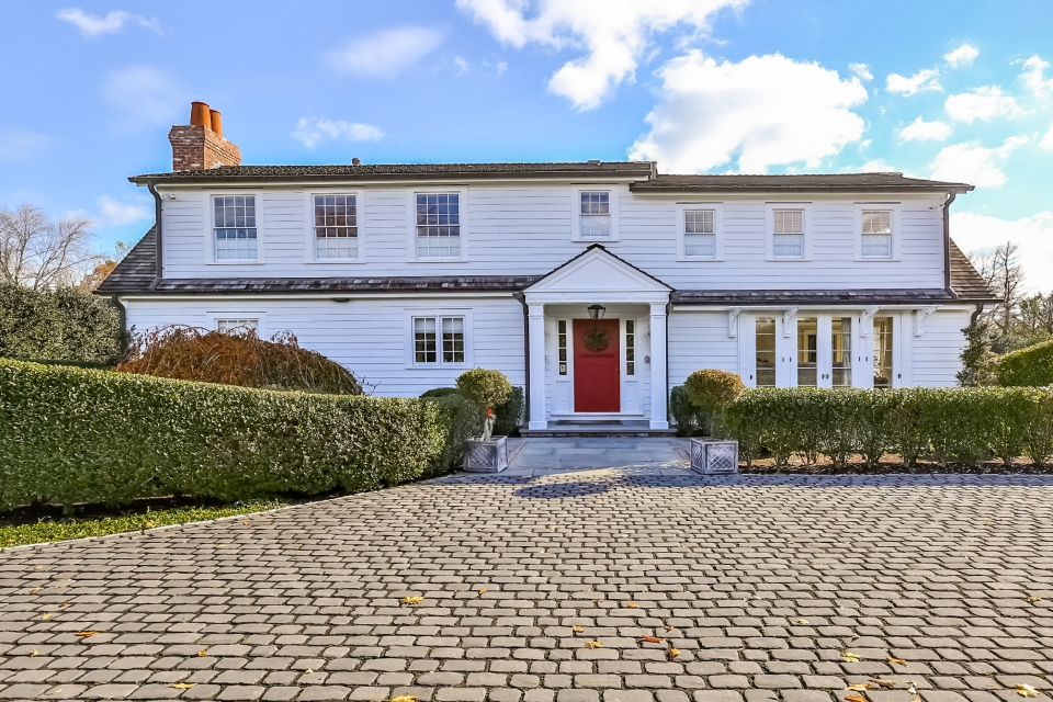 Anne Hathaway Quietly Sells Charming Westport, CT Colonial