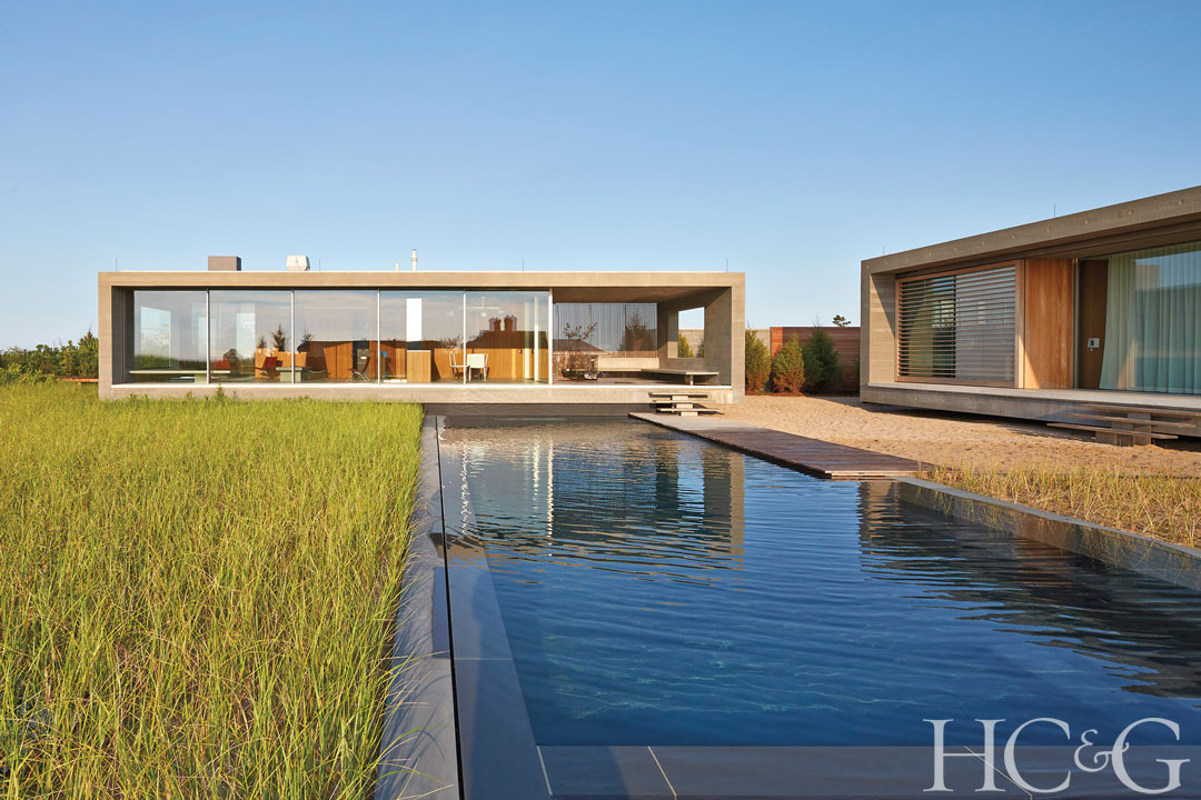 This modern home in Water Mill is on the market for $25 million.