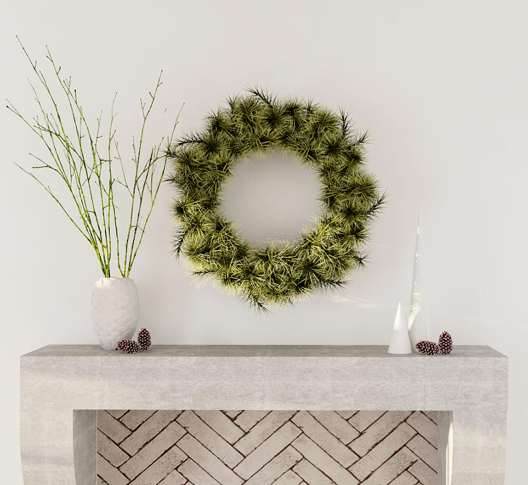 Holiday Decor Tips Home Winter Wreath