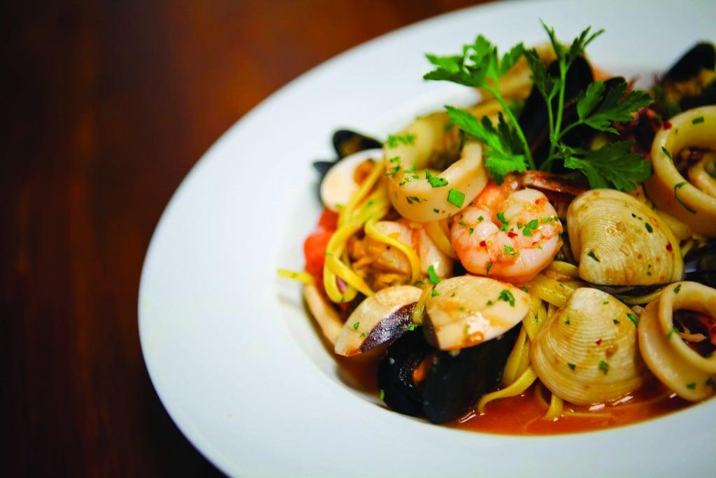 Seafood Pasta Full