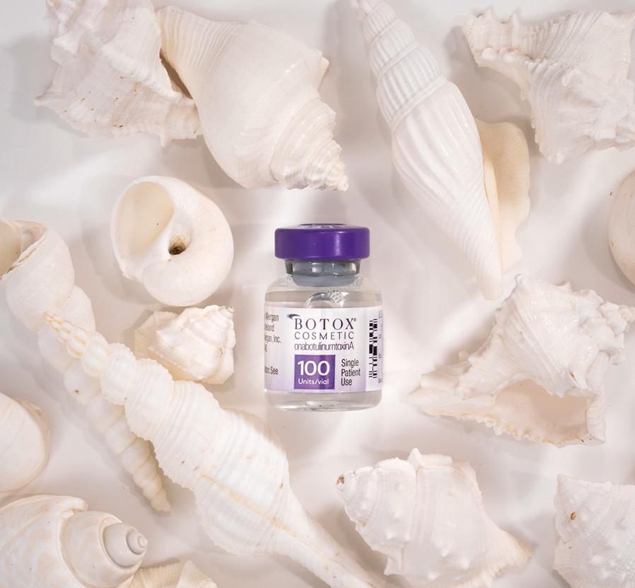 Botox Cosmetic Vial Seashells