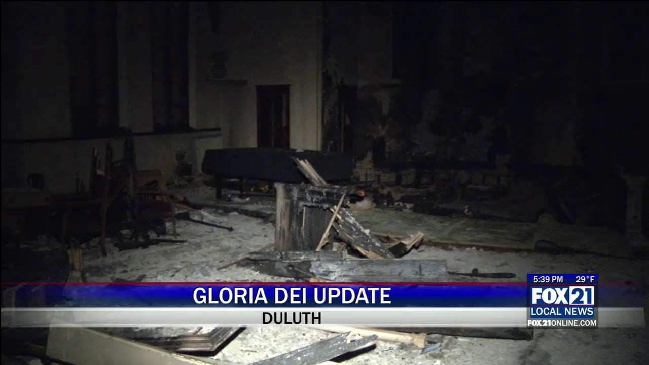 gloria dei plans to remodel church damaged by fire fox21online. Black Bedroom Furniture Sets. Home Design Ideas