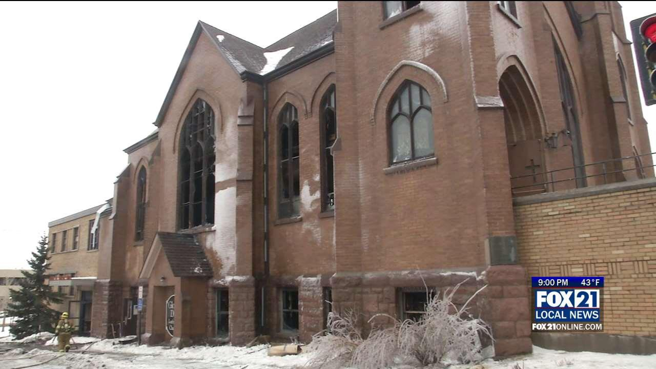 one year since fire that devastated gloria dei lutheran church fox21online. Black Bedroom Furniture Sets. Home Design Ideas