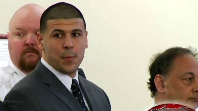 Aaron Hernandez found with a Bible verse written on his forehead
