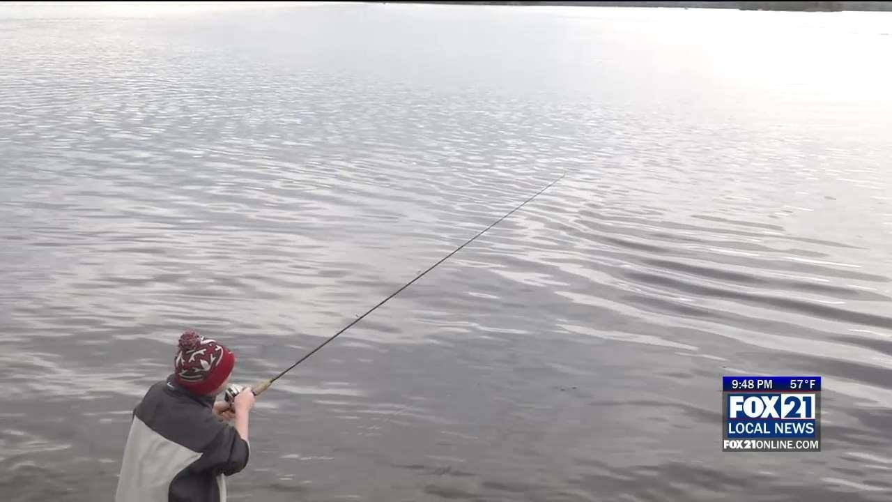 Great outdoors minnesota fishing opener fox21online for Duluth mn fishing report