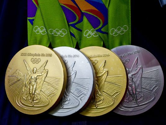 Faster, Higher, Rustier: Medals from Rio Olympics Damaged ...