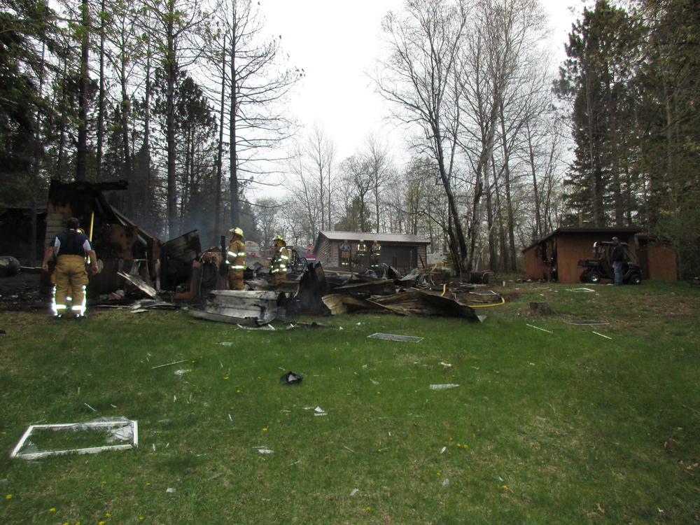 Explosion Destroys Cabin Near Solon Springs Leaves 1 Man