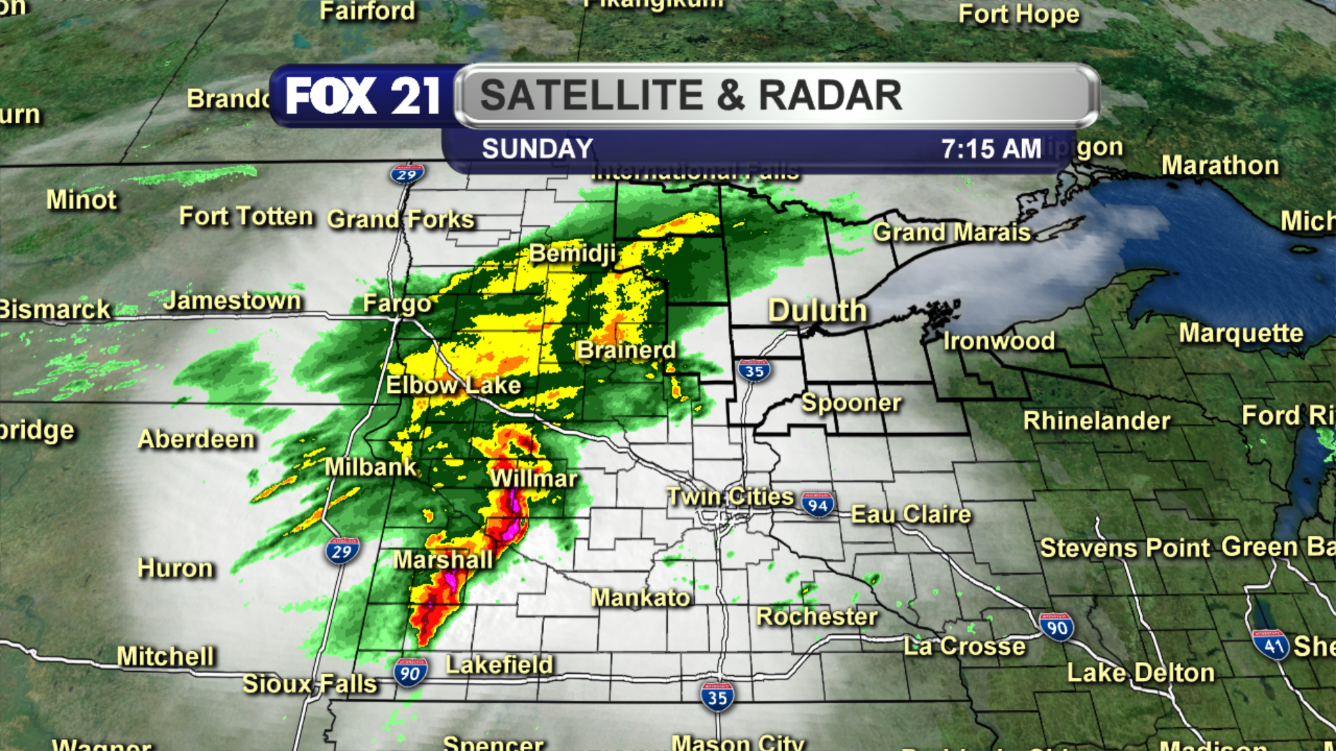 Stationary Front On A Weather Map.Wisconsin Flooding From Two Rounds Of Thunderstorms Fox21online