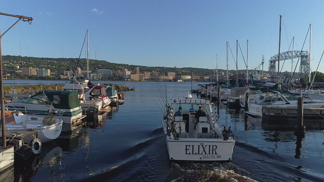 Special report setting sail with superior pursuits for Duluth mn fishing report