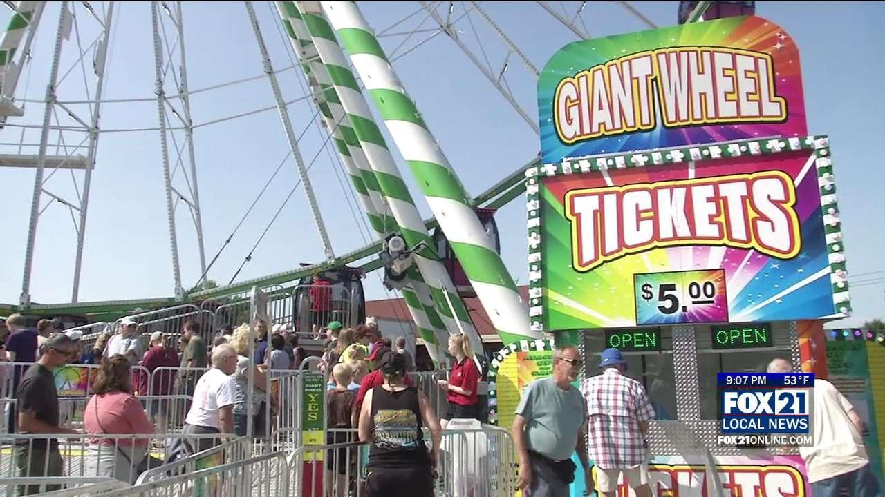 Nation S Largest Traveling Ferris Wheel Visits Minnesota