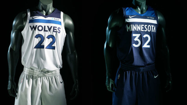 8b0cb1ba4 MINNEAPOLIS (KMSP) – The new Minnesota Timberwolves uniforms have been  unveiled. The team released the new unis in a flurry of social media posts  Thursday ...