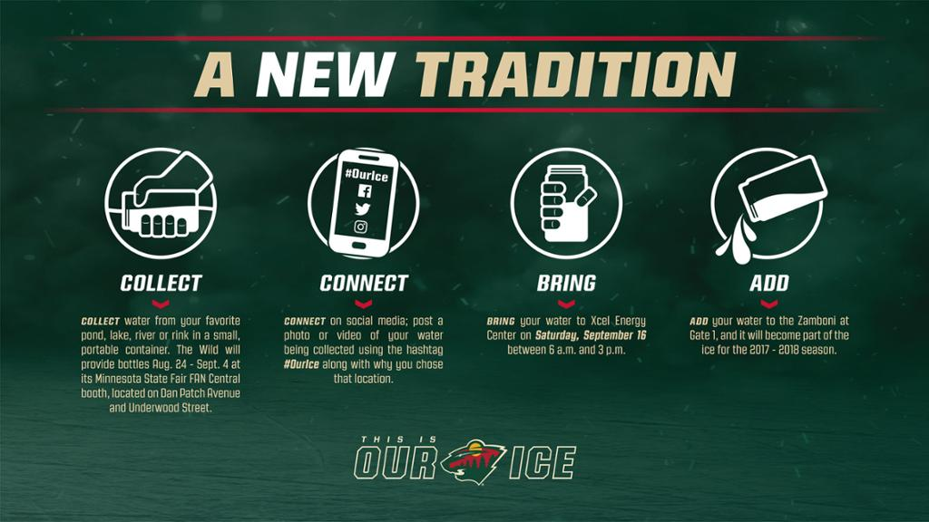 Minnesota Wild Unveil New This Is Our Ice Tradition
