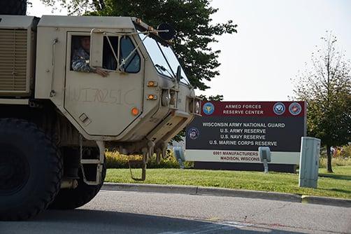OK National Guardsmen Deployed To Harvey-Affected Texas
