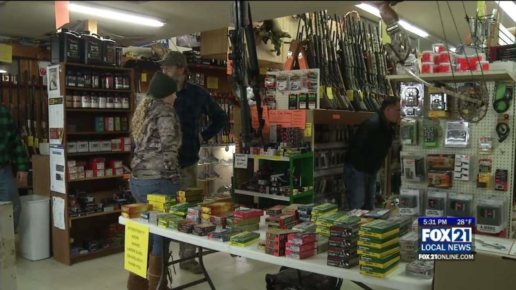 Preparing For Firearm Deer Hunting Season Opener