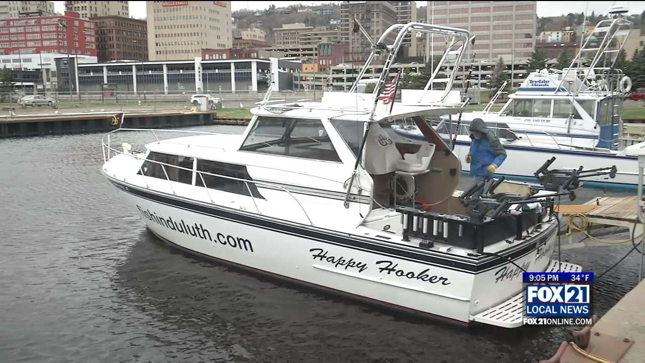 Charter Boats Dock In Minnesota Slip For Upcoming Season