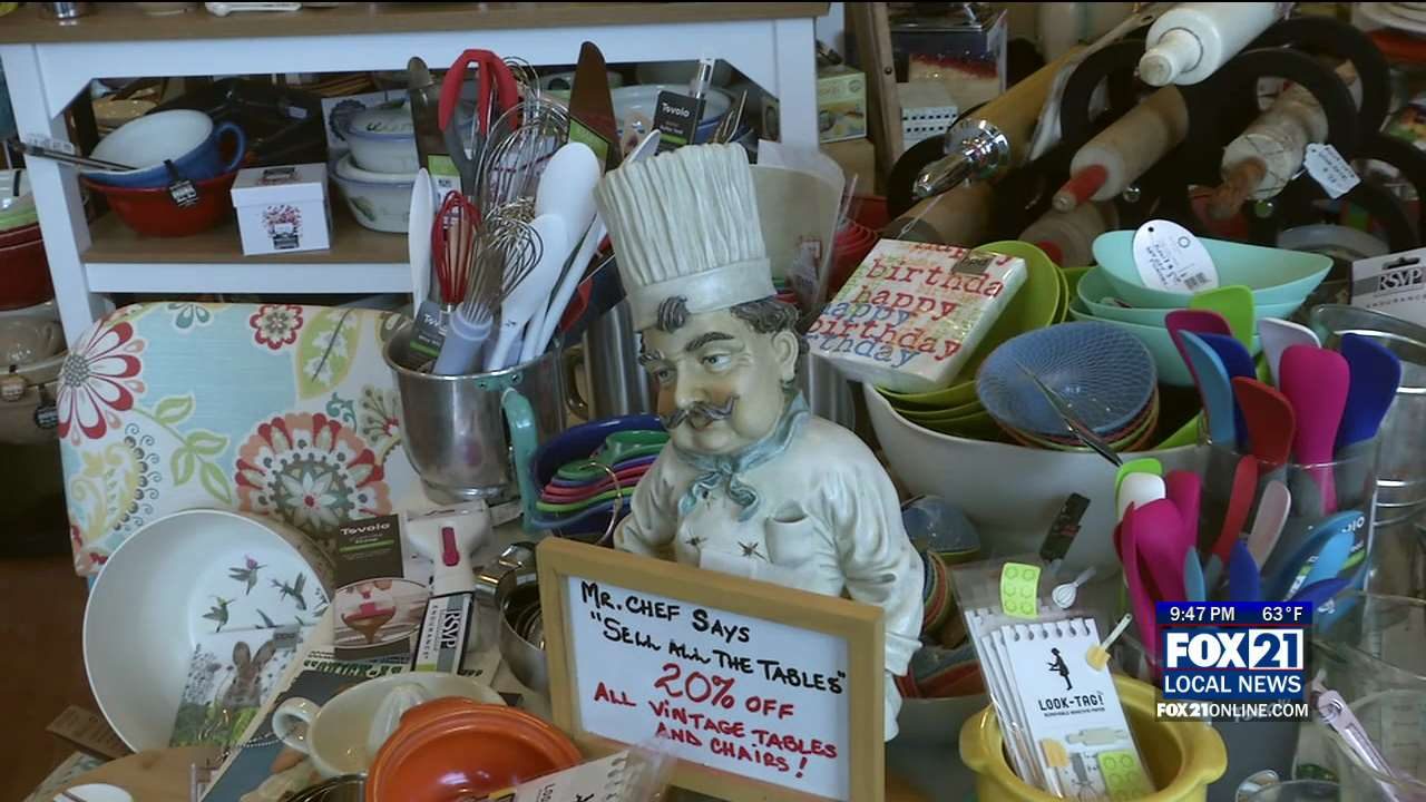Knowing Your Neighbors: Potluck Vintage And Modern Kitchenware   Fox21Online