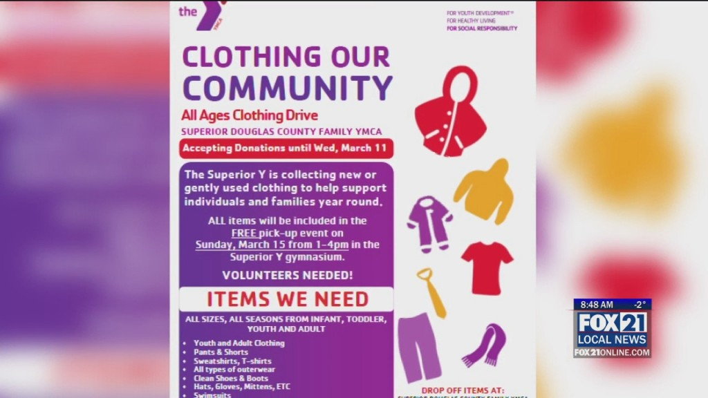 Community Clothing Drive