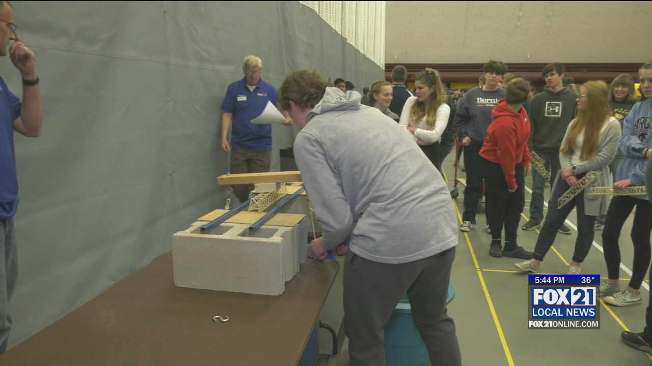 27th Annual Toothpick Bridge Competition Takes Place At Umd Fox21online