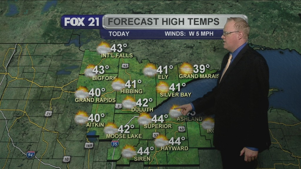 Monday March 23, 2020, Morning Forecast