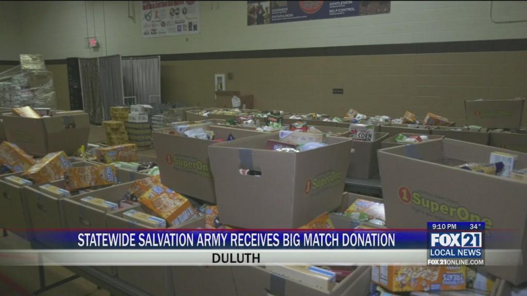 Salvation Army Match