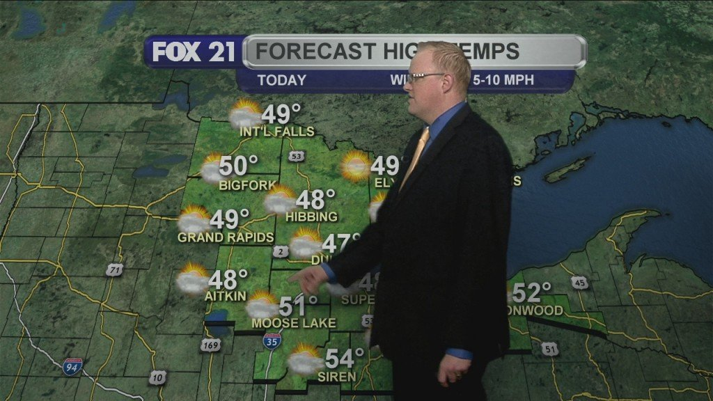 Friday March 27, 2020, Morning Forecast